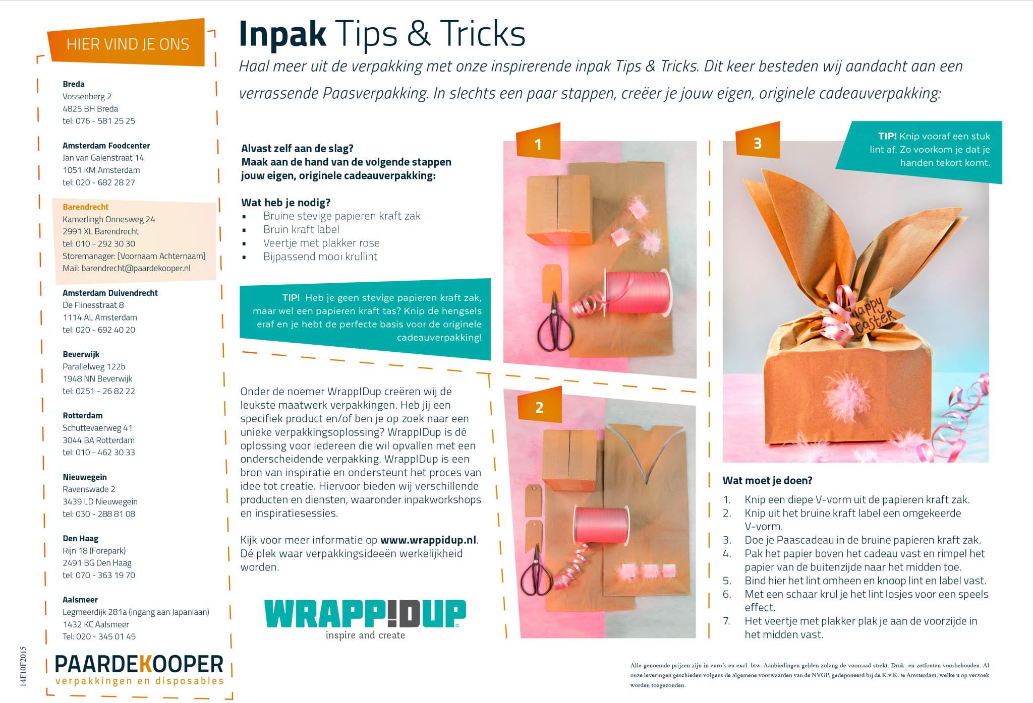 inpaktips en tricks paasverpakking