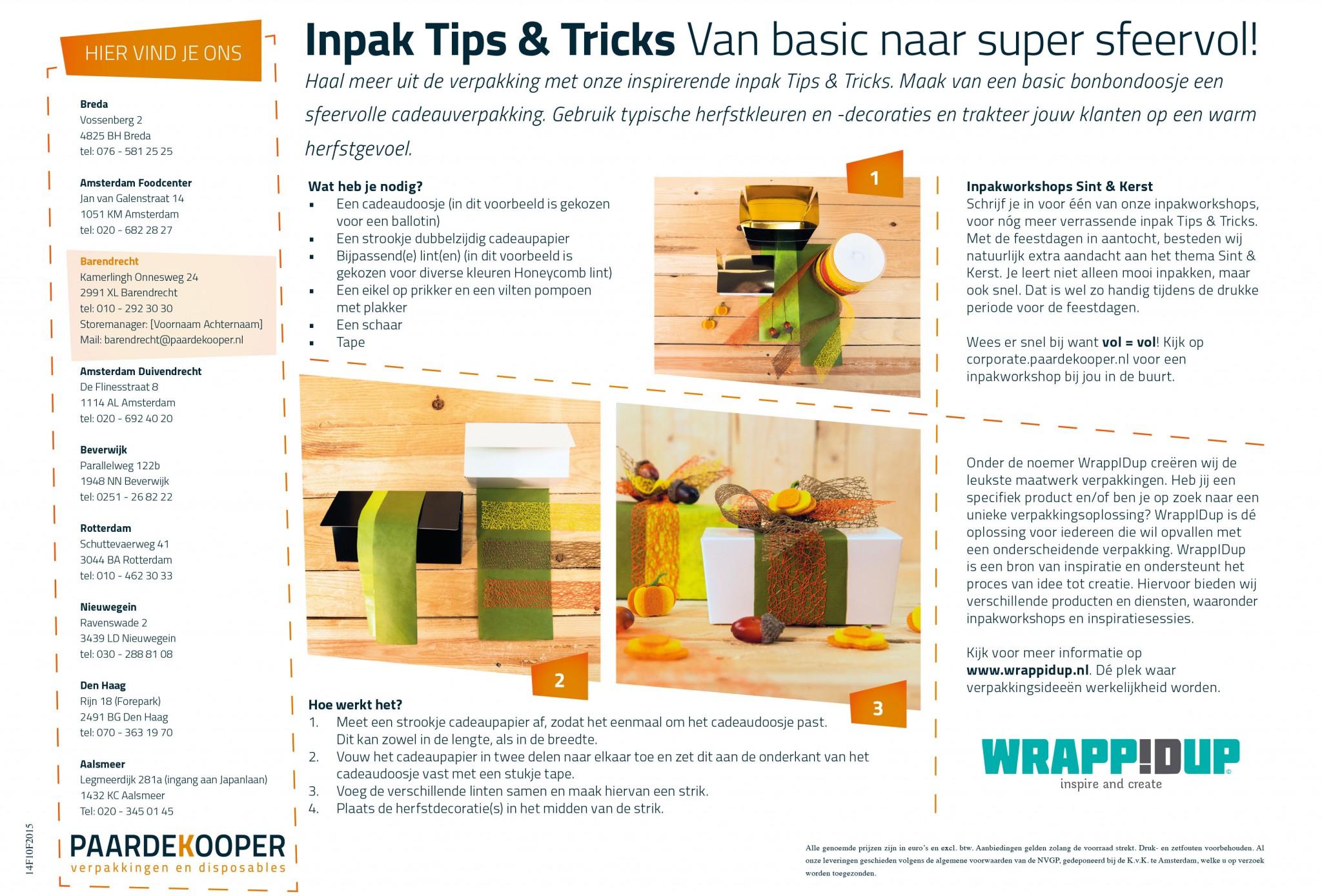 tips en tricks, van basic naar super sfeervol