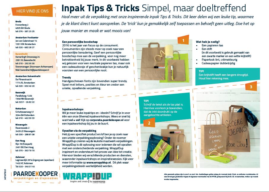 inpaktip & trick simpel, maar doeltreffend