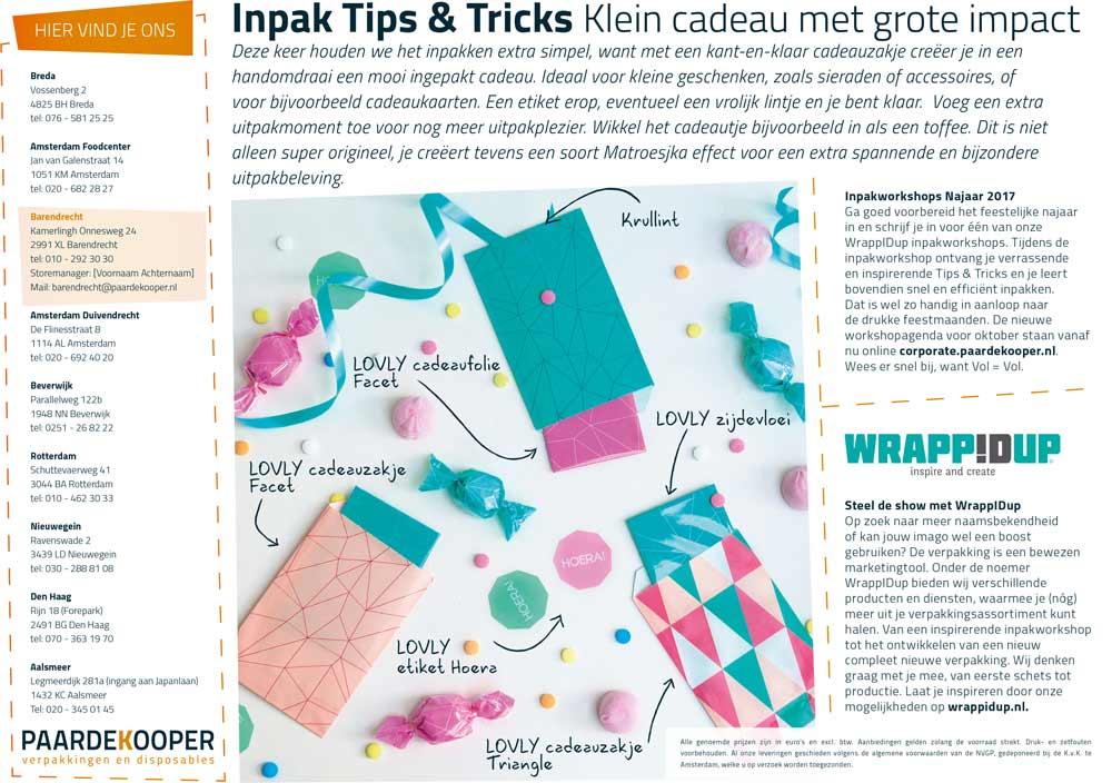Inpak tip en trick Klein cadeau met grote impact