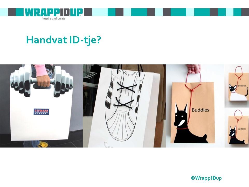 WrappIDup handvat ID-tje