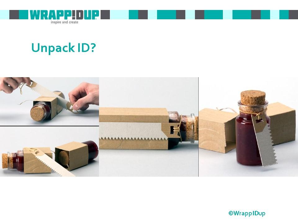 WrappIDup unpack ID