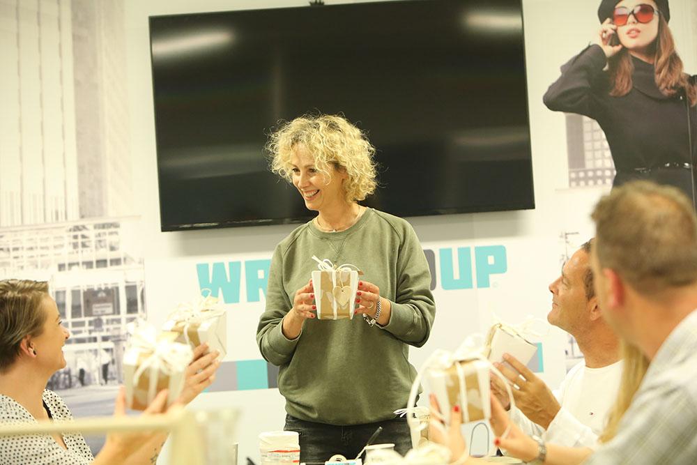 Drankenpakket Expo 2017 en WrappIDup organiseren workshop creatief en effectief verpakken