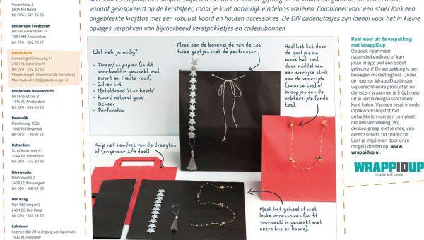 Inpaktips en tricks maak je eigen luxe paperbag