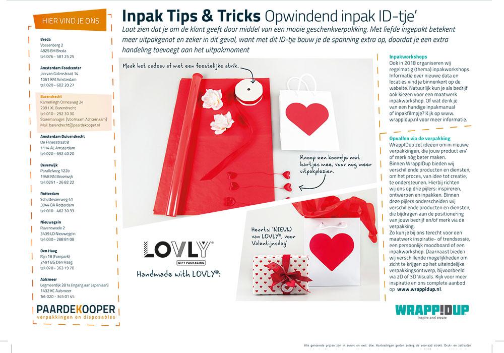 Inpaktips & Tricks Opwindend inpak ID-tje