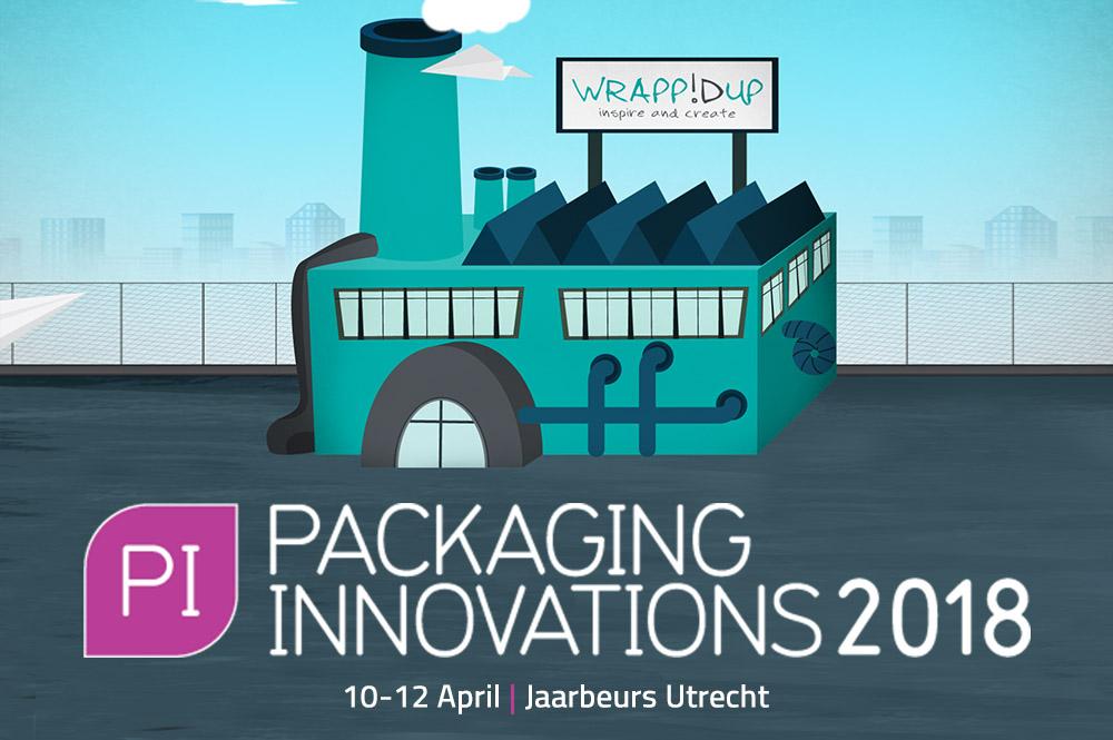Beleef WrappIDup tijdens de Packaging Innovations