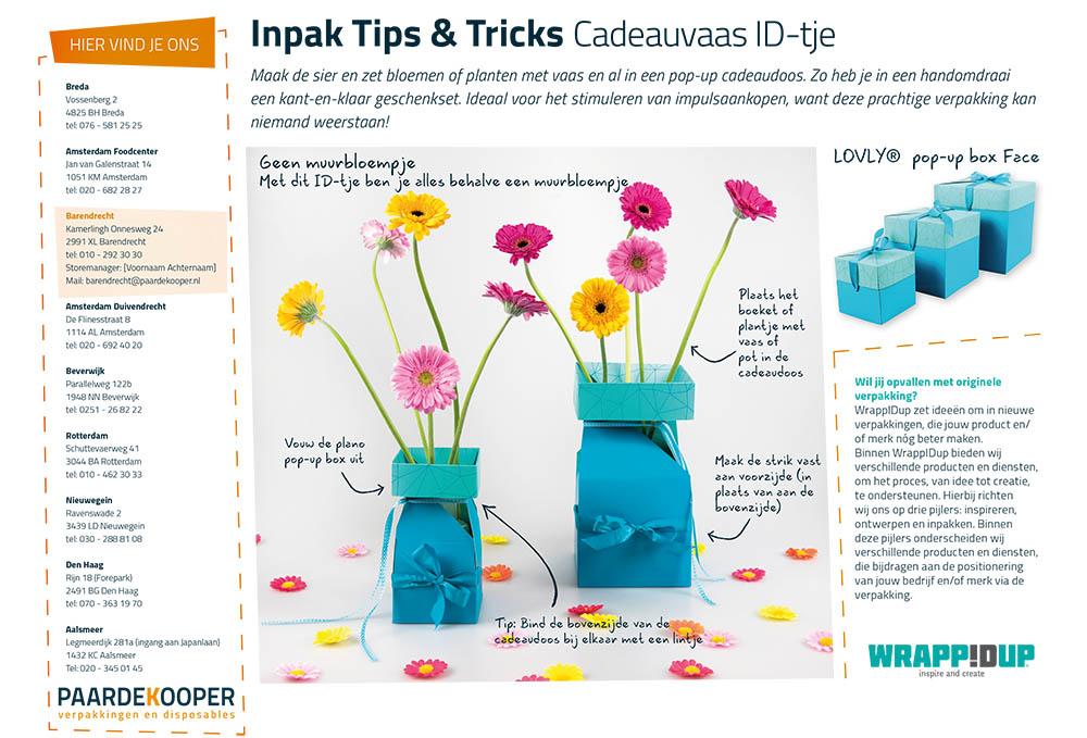 Inpaktips & tricks Cadeauvaas ID-tje